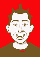 Thumb avatar ku secara cartoon face