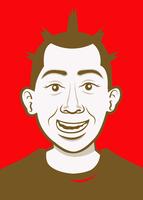 Thumb avatar ku secara cartoon face