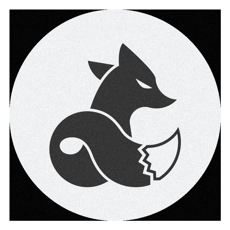 Logo si rubah hitam 2018