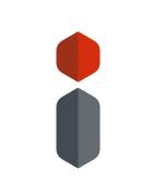 3d i logo