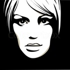 Normal 2197345 woman face with beautiful eyes vector illustration