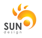 Normal logo sun design