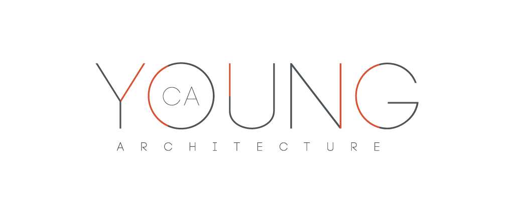 Ca Young Architecture Logo Design By M Studio
