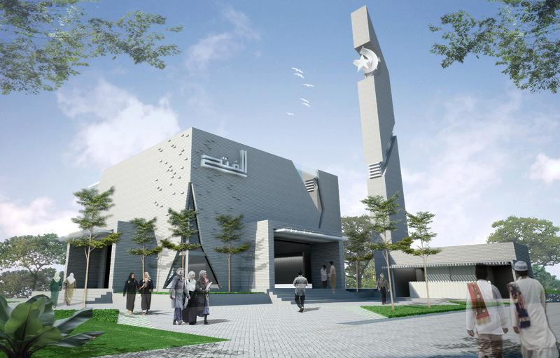 Desain Dinding Masjid