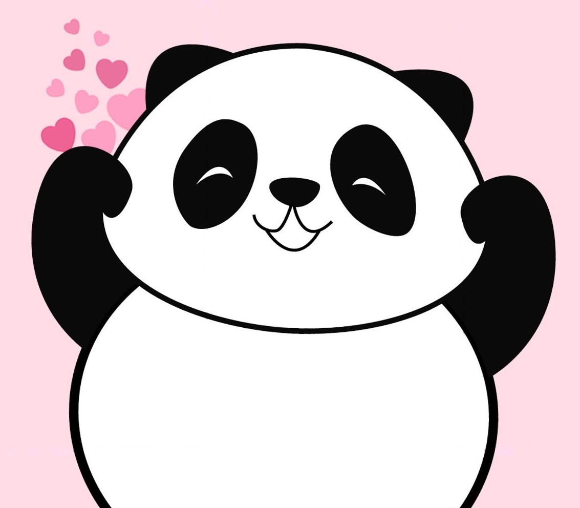 Sketsa Gambar Panda Lucu