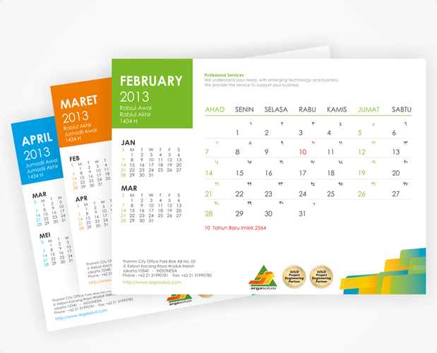 calendar designs for company