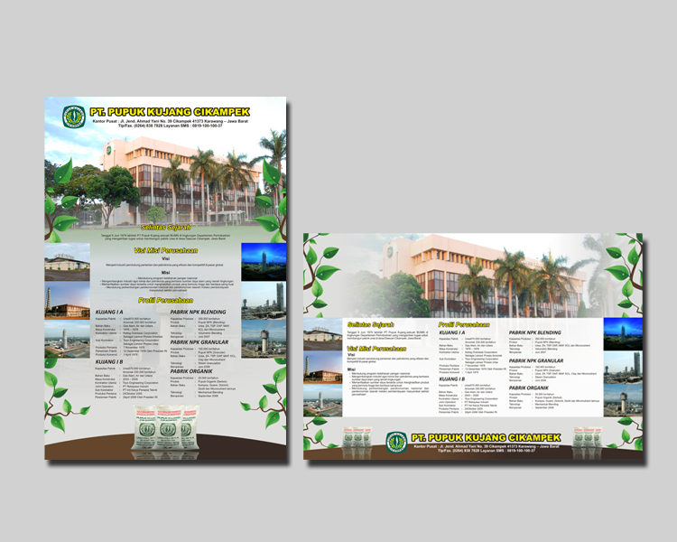 Gallery Poster Company Profile Pt Pupuk Kujang