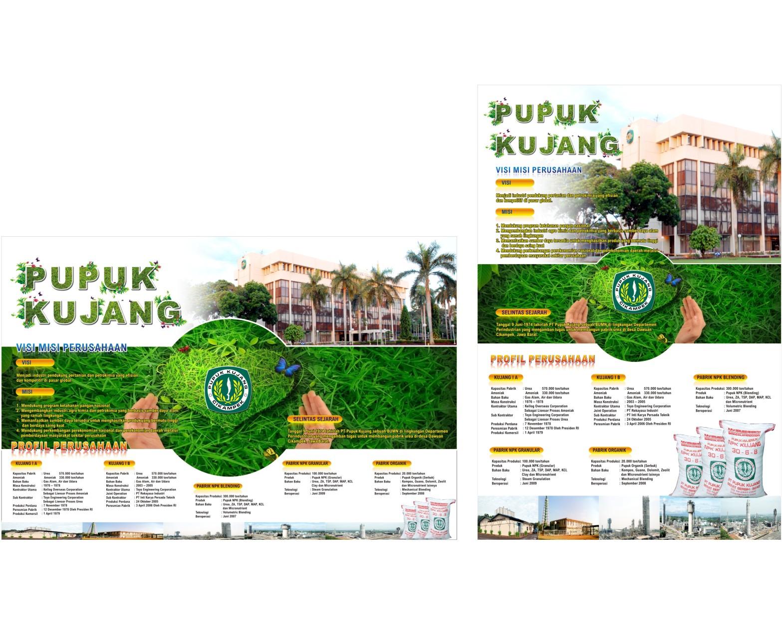 Galeri Poster Company Profile PT Pupuk Kujang