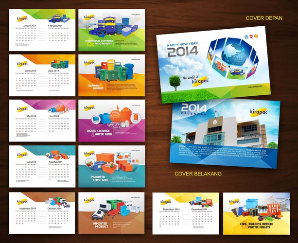 design calendar for kirapac