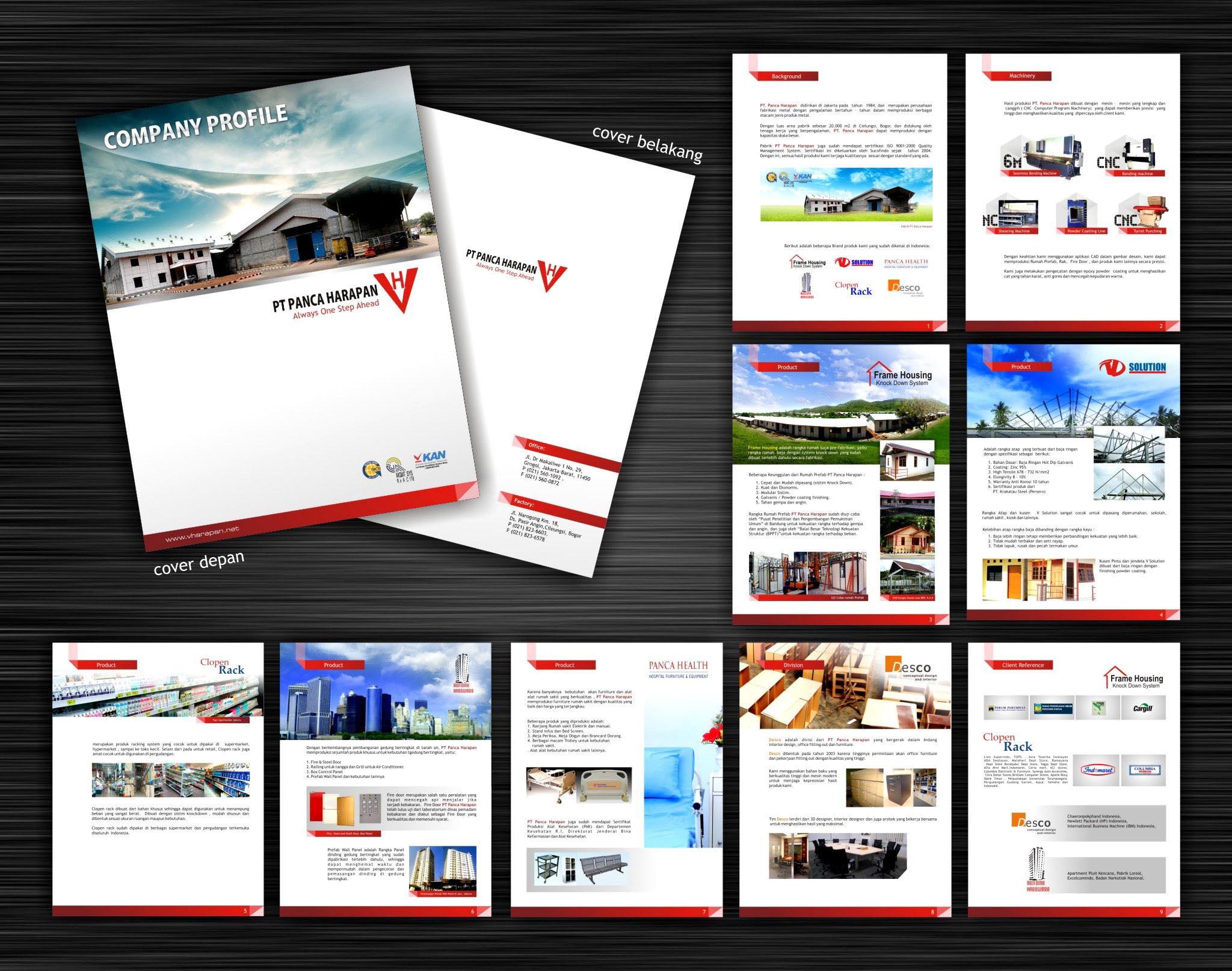 Gallery Desain Company Profile Panca Harapan