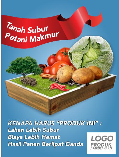 Desain Poster pertanian