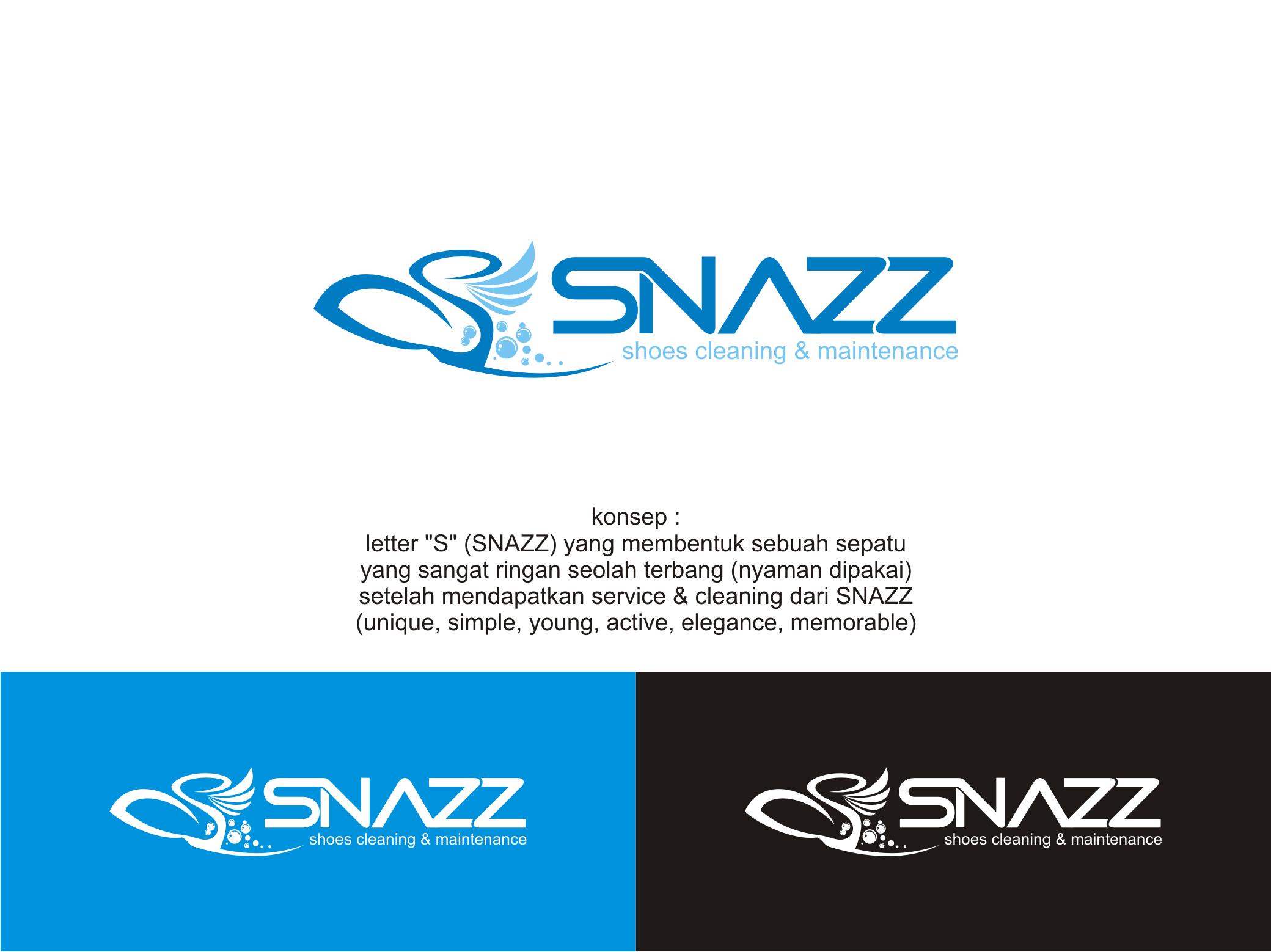 Sribu Desain Logo Logo Design For Snazz Shoes Sneaker