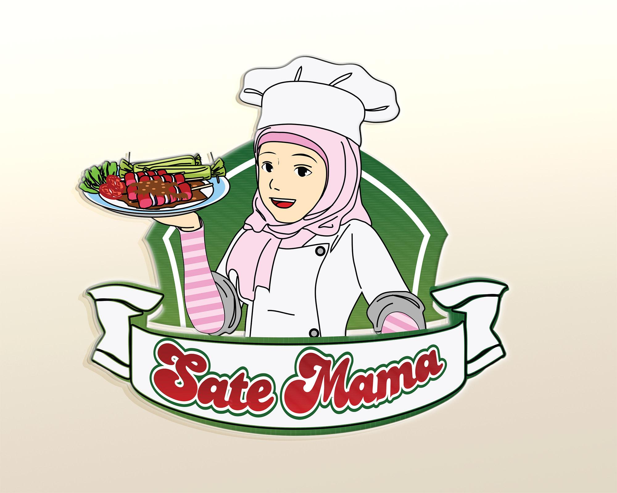 Gambar Animasi Chef Berhijab