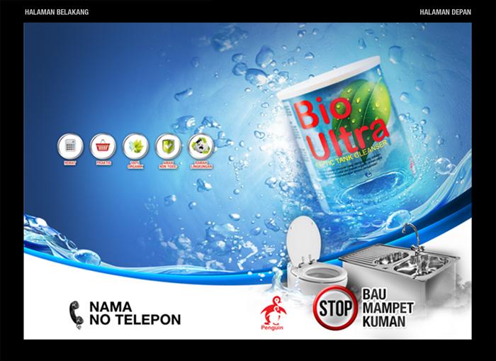 Desain Brosur Bio Ultra