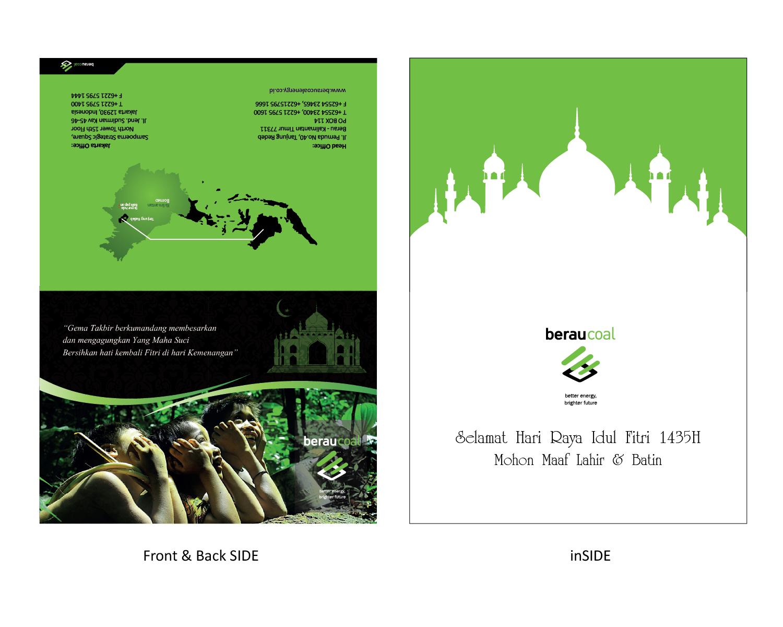 Sribu: Invitation Design - Desain untuk Kartu Ucapan Idul Fi