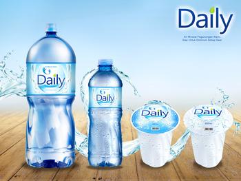 desain kemasan air minum