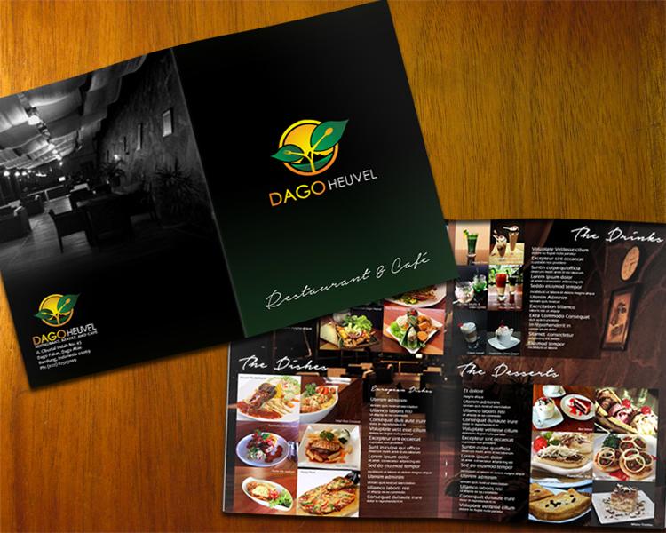 Desain Brosur untuk Restaurant