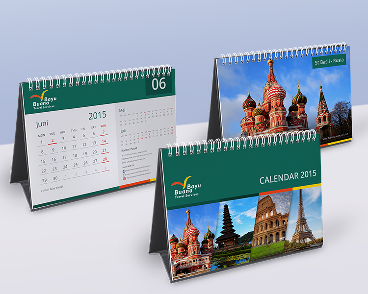 Calendar Design Competition : Sribu calendar design calender for pt bayu buana