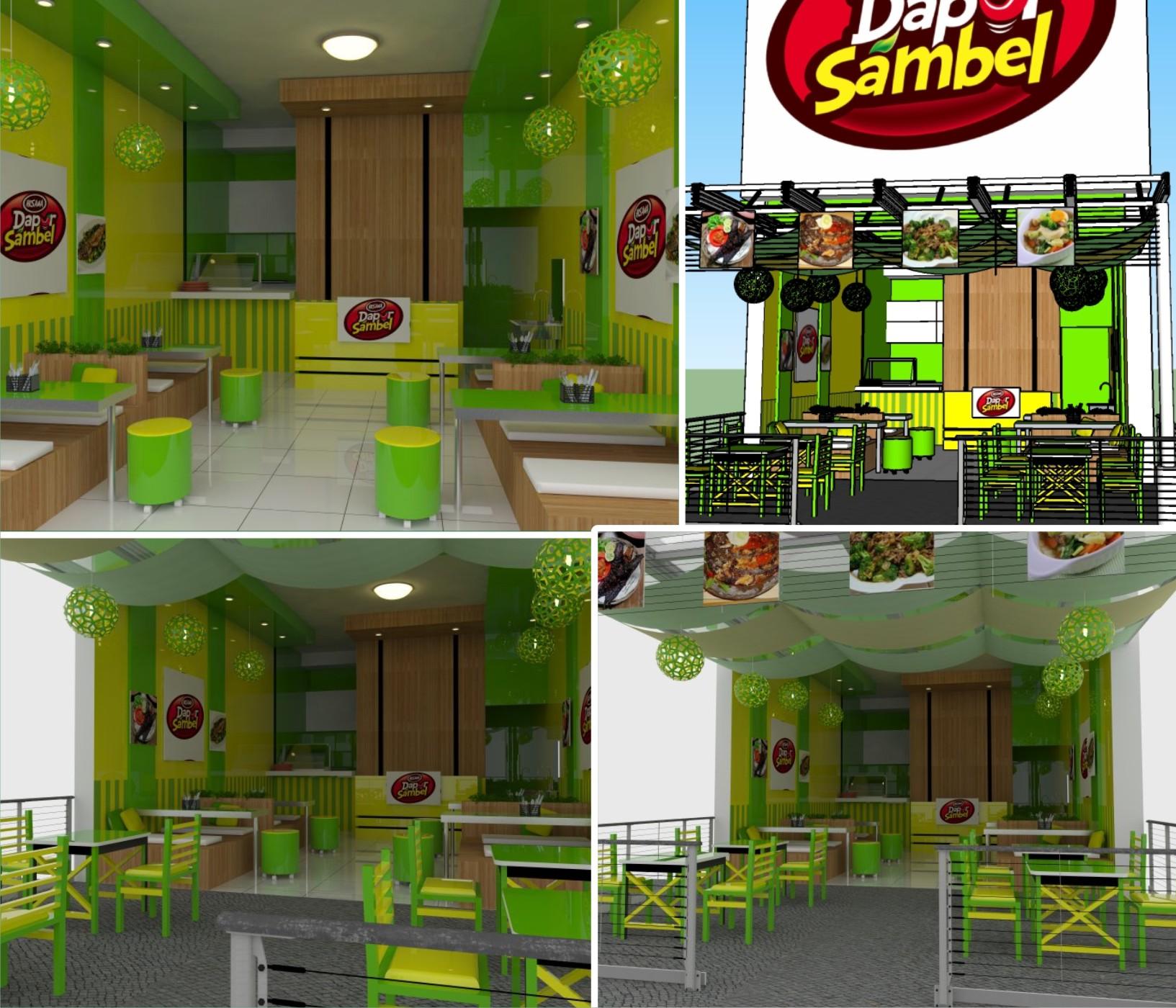 Gambar Ruangan Warung Makan