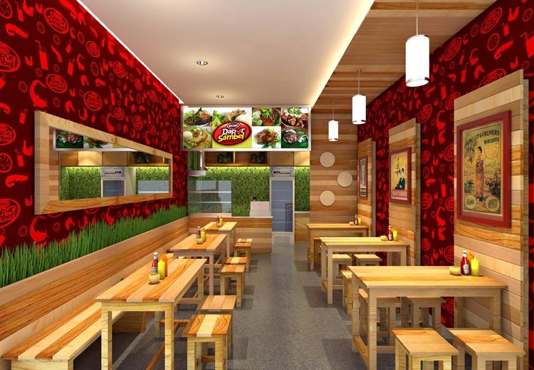 Sribu Booth Design Desain Outlet Untuk Rumah Makan Dapu