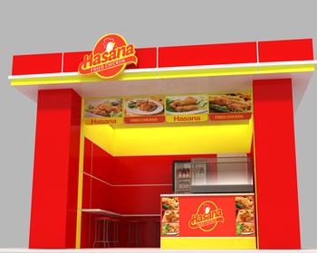 Inilah 26+ Desain Rumah Makan Fried Chicken