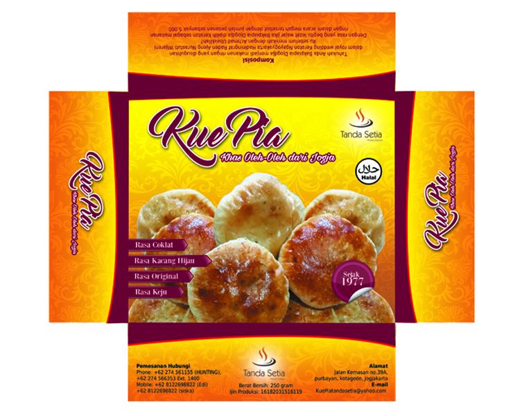 Sribu: Desain Kemasan - Desain Kemasan Untuk Kue Pia.