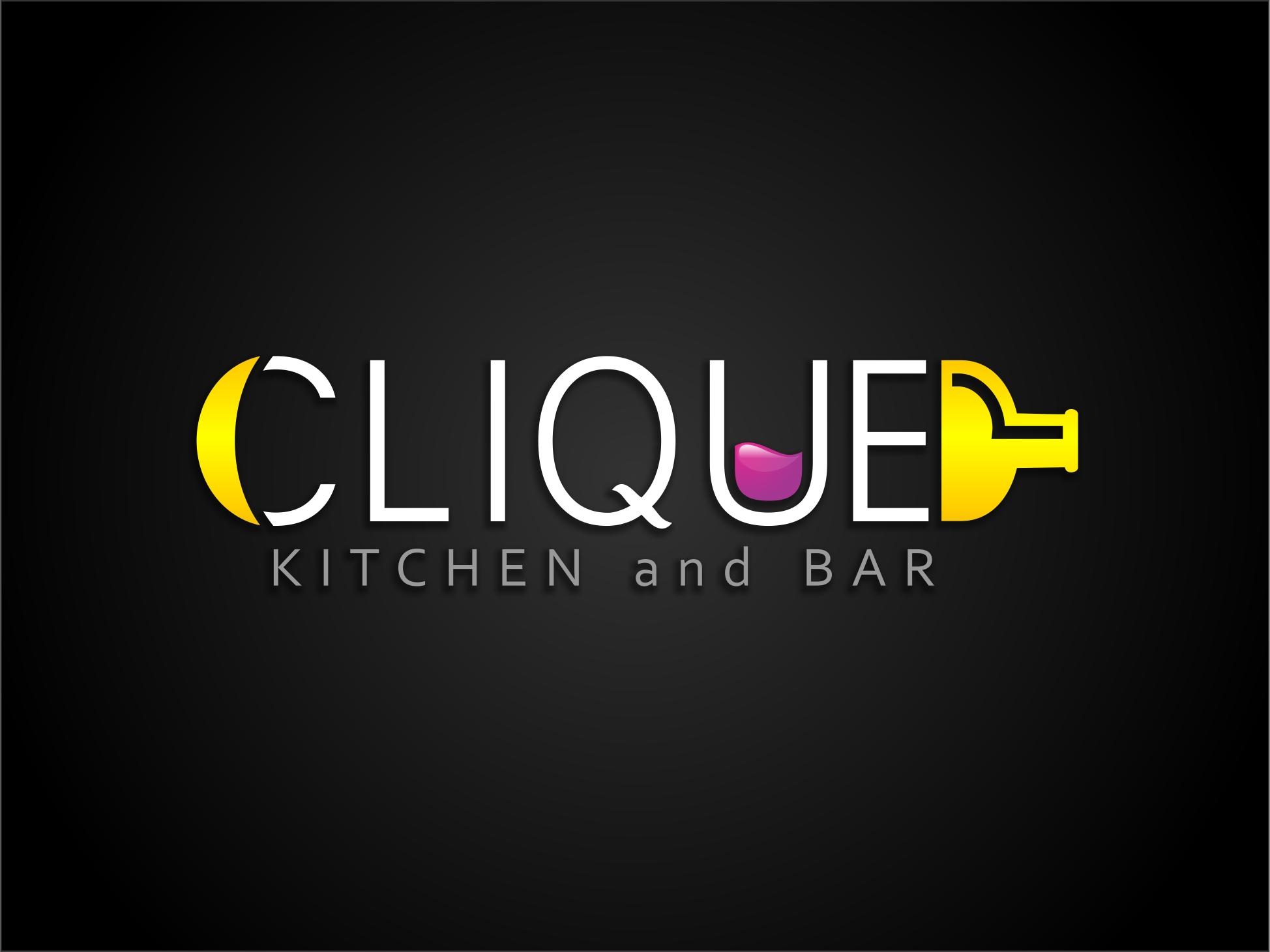 Kitchen and bar logo designs