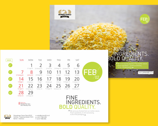 professional calendar design services