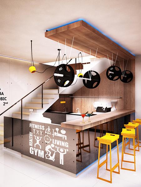 Galeri Desain  Ruangan Cashier Mini  Cafe