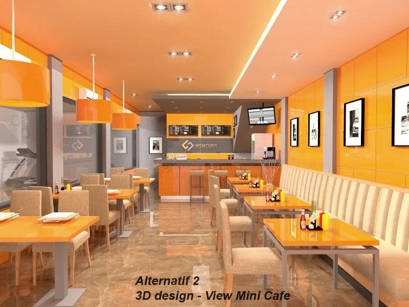 Gallery Desain  Ruangan Cashier Mini  Cafe