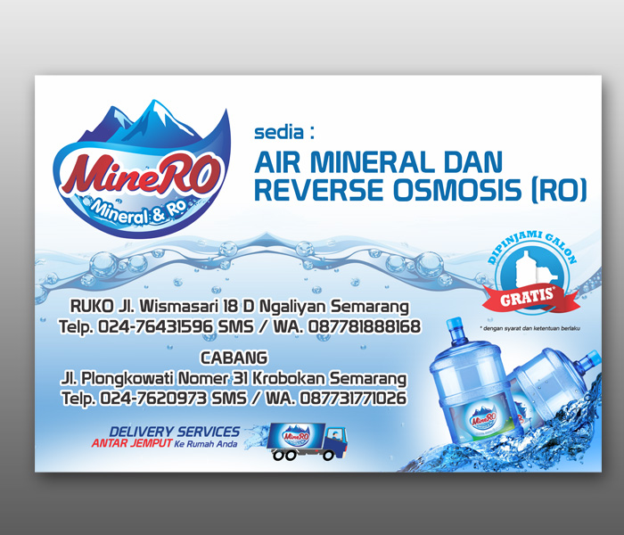 Sribu Desain Banner Desain Spanduk Untuk Depo Air Amdk