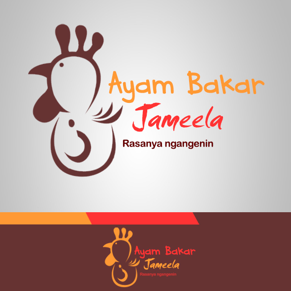 Sribu Logo Design Desain Logo Untuk Ayam Bakar Jameela