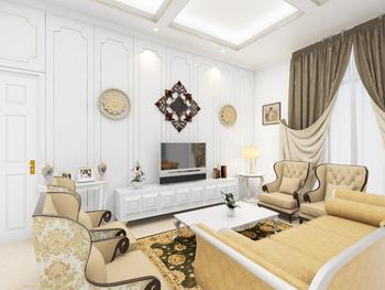 sribu booth design interior design for american classic s. Black Bedroom Furniture Sets. Home Design Ideas