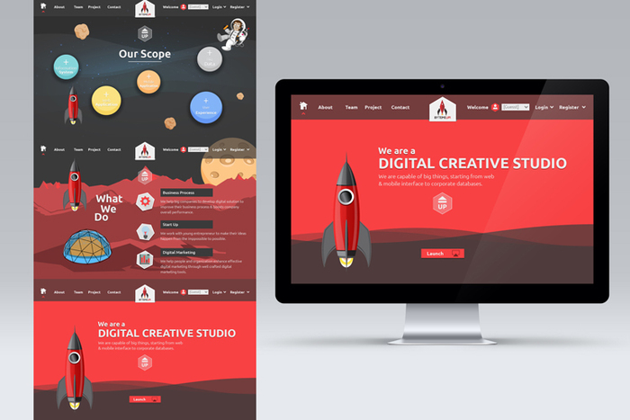 Sribu: Professional and Affordable Web Design Company