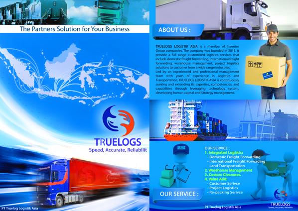 Gallery Desain Company Profile Untuk Pt Truelog Logistik