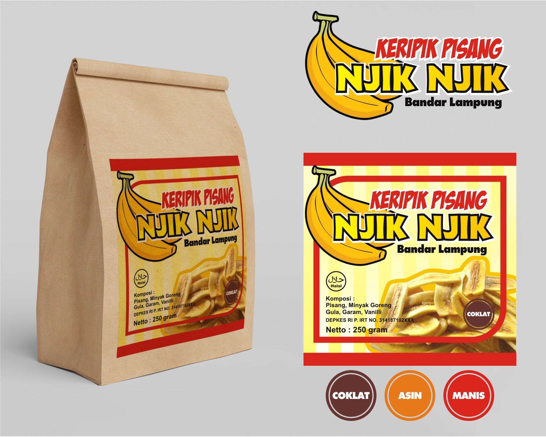 Sribu Desain Merchandising Paper Bag Untuk Keripi Keripik Pisang By Mulqi Rasa 1c6d2512a3