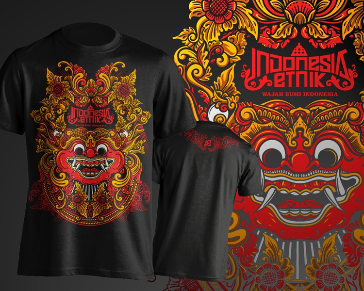 Indonesian Custom T-shirt Design