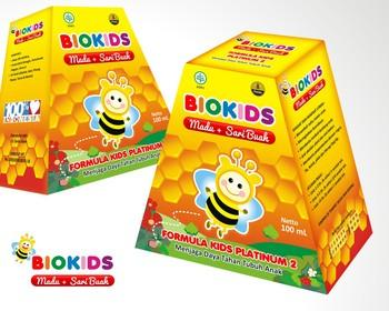desain kemasan produk biokids