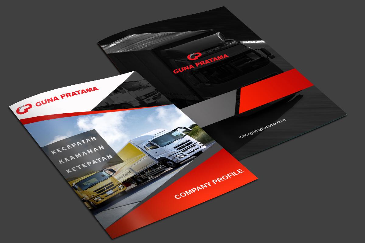 Gallery Desain Company Profile Guna Pratama