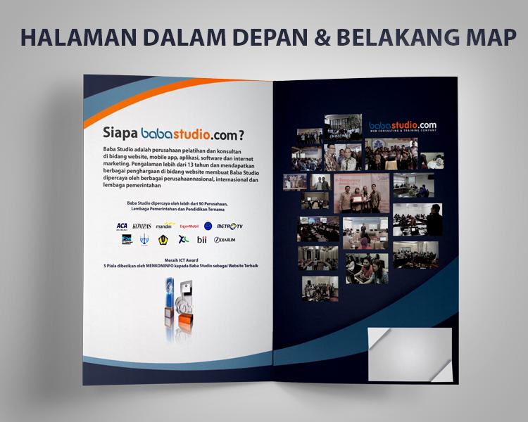 Gallery Desain Company Profile Bentuk Map Untuk Baba Studi