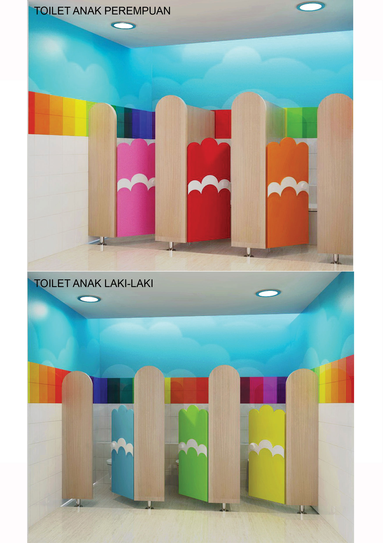 Sribu Desain Booth Desain Toilet Sekolah Taman Kanak Kana