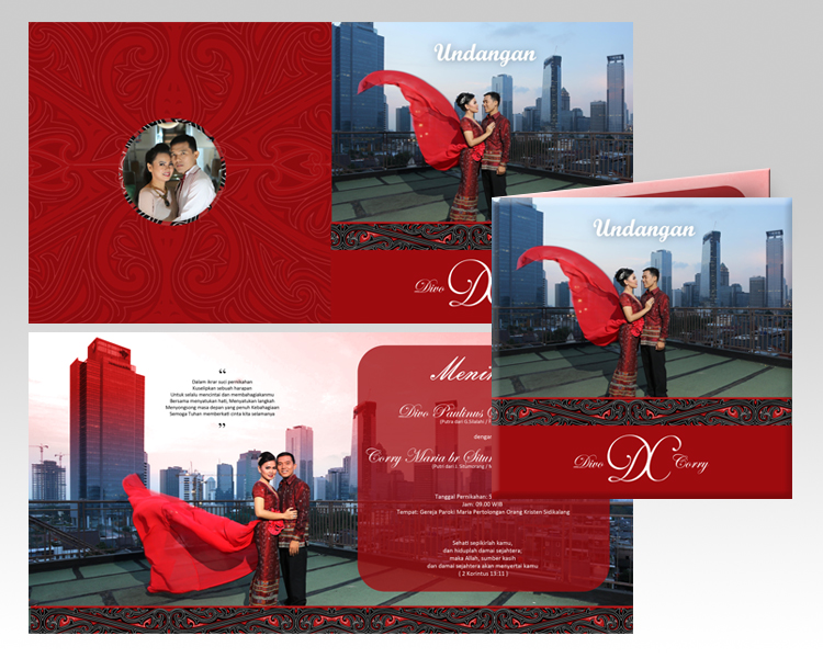 Gerry's Wedding Invitation Design