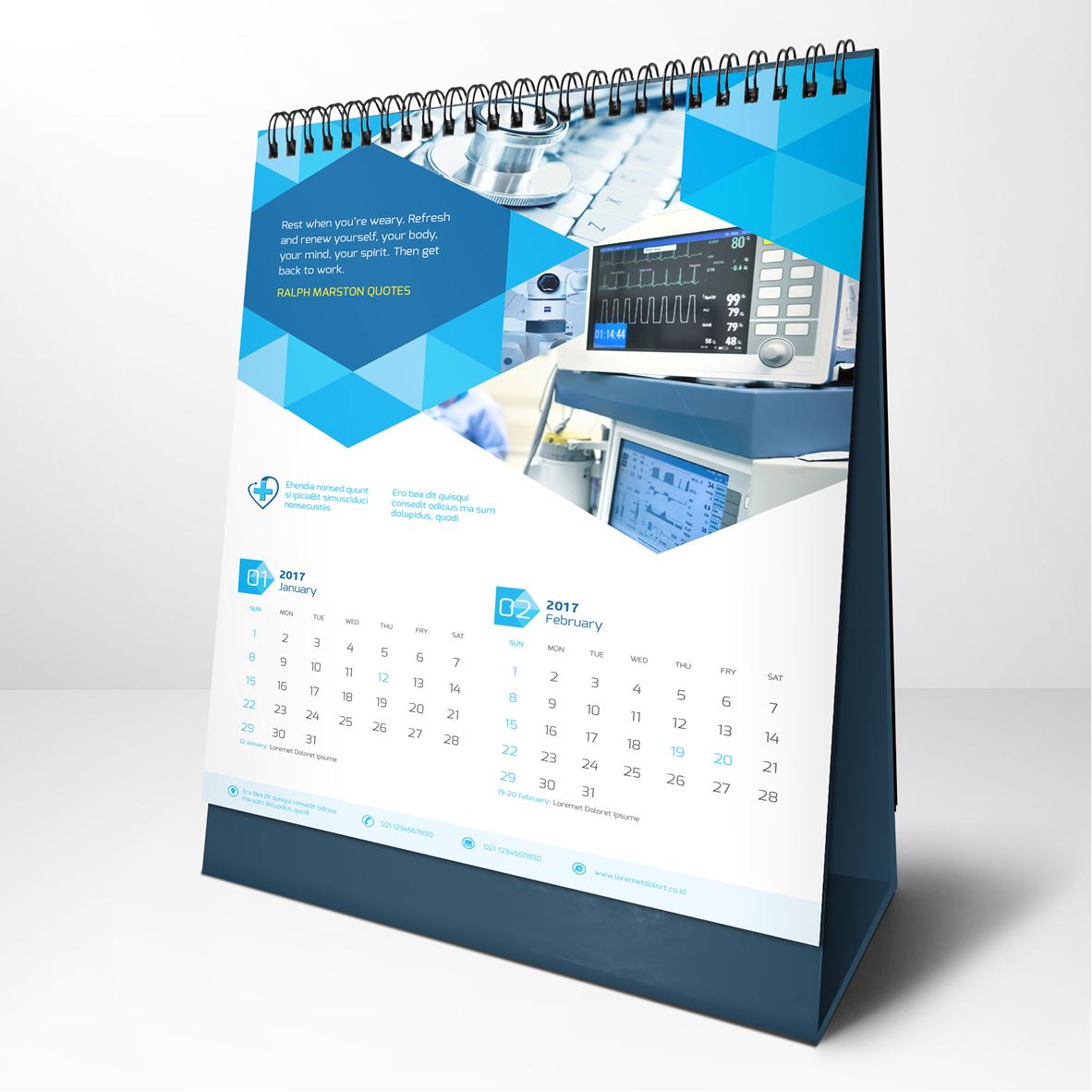 Sribu: Calendar Design - Desain Kalender Perusahaan