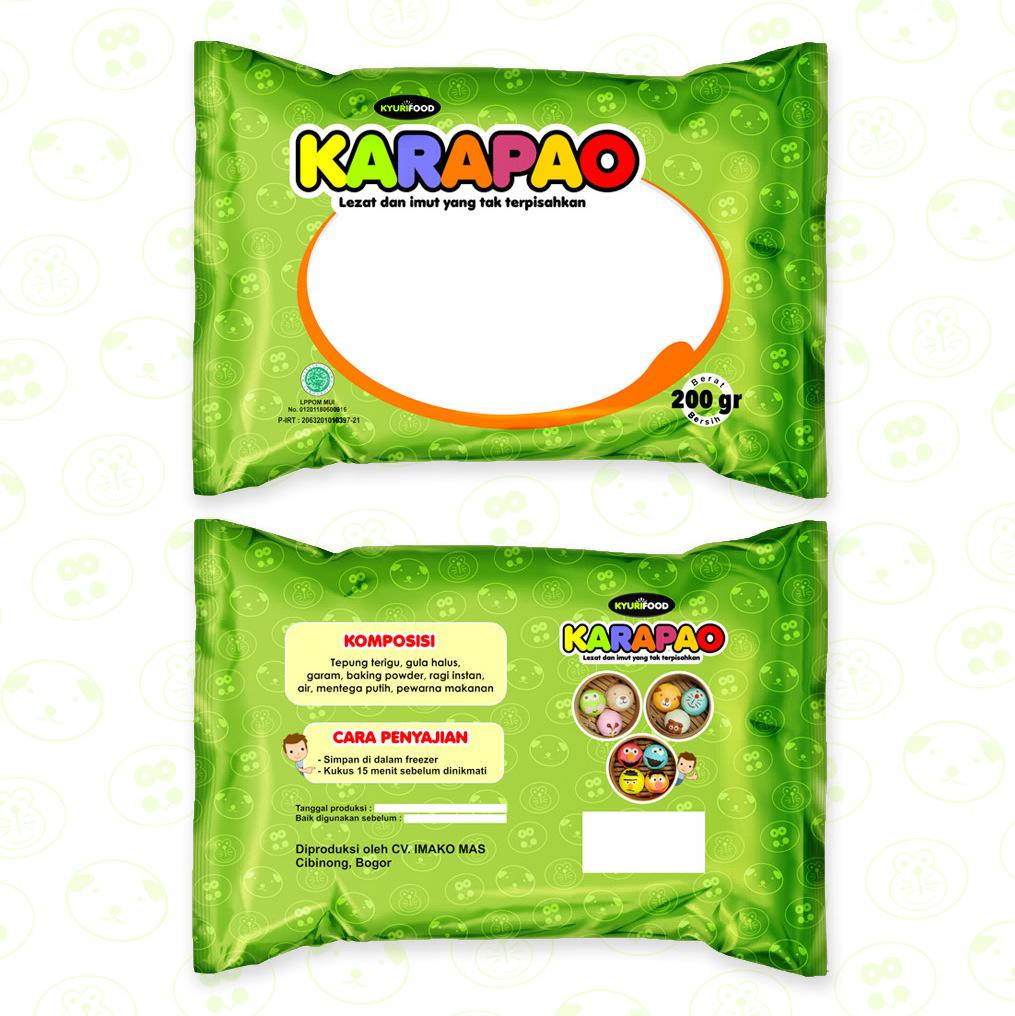 """Sribu: Desain Kemasan - Desain Kemasan untuk Produk """"Karapao"""