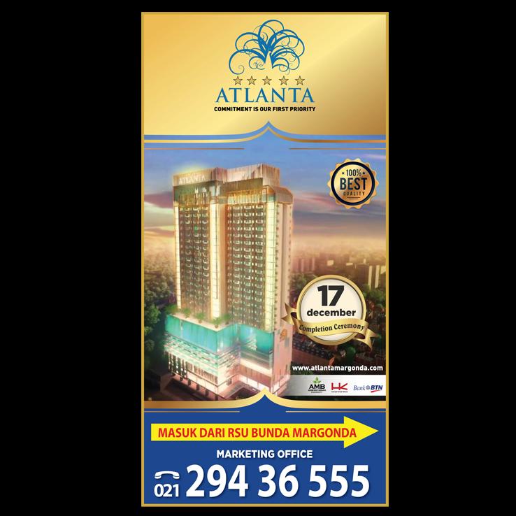 Design Brief Desain Poster Untuk Baliho Apartment Atlanta