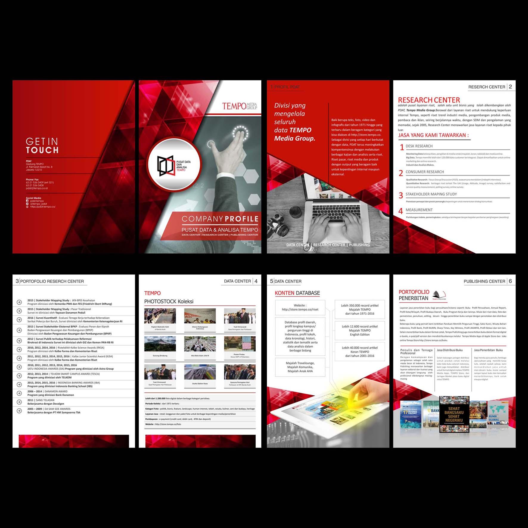 Sribu: Company Profile Design