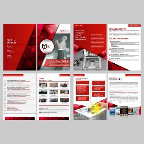 Sribu: Media Company Profile Design Service