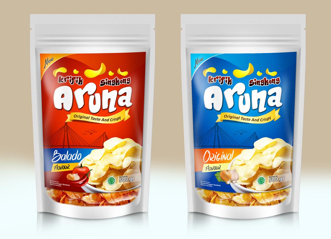 Sribu Label Design Kontes Desain Label Keripik Singkong