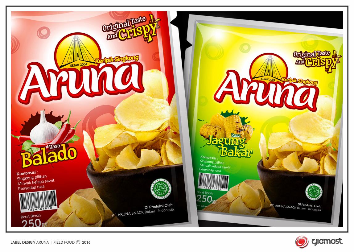 Sribu Desain Label Kontes Desain Label Keripik Singkong