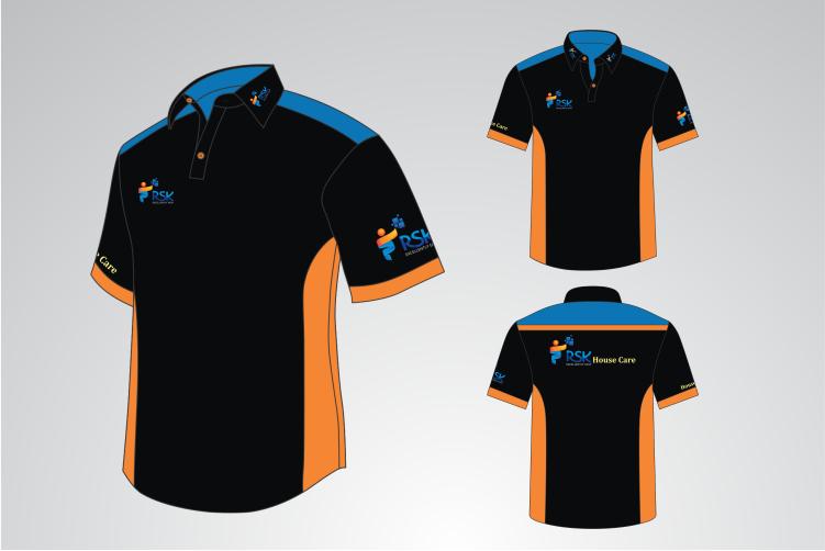 Sribu: Desain Seragam Kantor/Baju/Kaos - Design Polo Shirt d